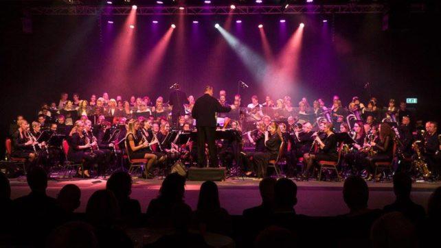 Dubbelconcert Moonlight Bigband en Harmonie Euterpe Emmen